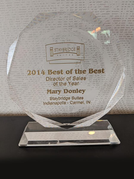 2014 Staybridge Suites Director of Sales of the Year