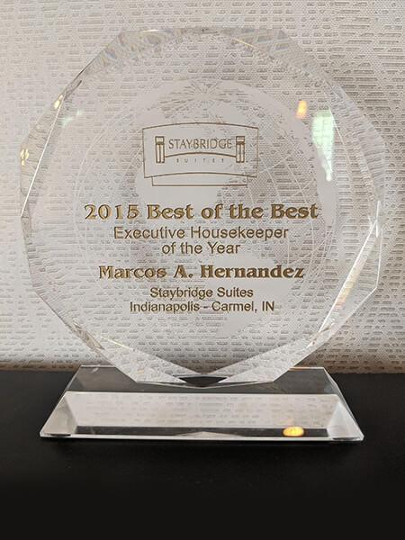 2015 Staybridge Suites Executive Housekeeper of the Year