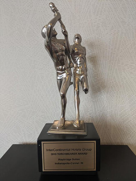 2015 Staybridge Suites Torchbearer Award